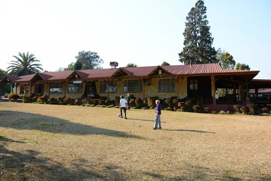 Jock Sabie Lodge: Reception and Restaurant