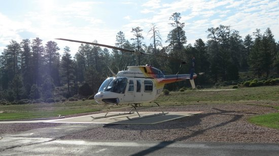 Papillon Grand Canyon Helicopters: De helikopter