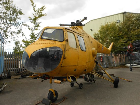Boscombe Down Aviation Collection: This was opened up for us to look at!