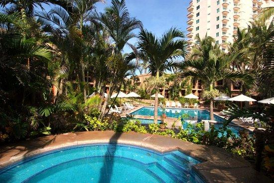Villas El Rancho Green Resort: Jacuzzi y Alberca