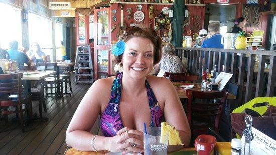 Cheeseburger In Paradise: My beautiful wife