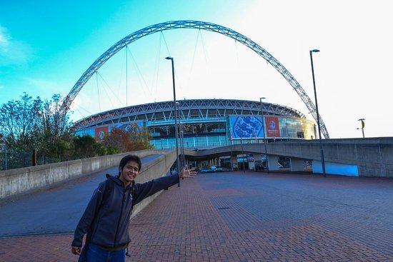 Wembley Stadium: Good afternoon Wembley