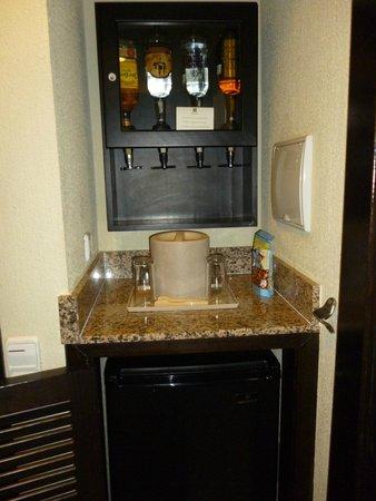 Hotel Riu Santa Fe: Mini Bar in Room