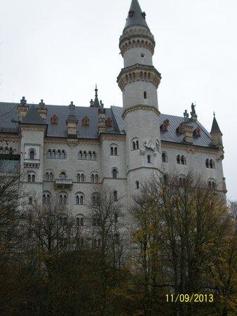 Castillo de Neuschwanstein: Closer view