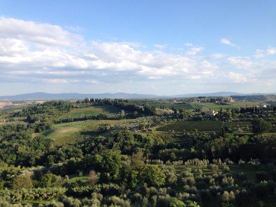 Le Vecchie Mura: The view