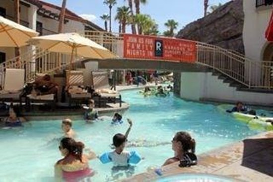 Omni Rancho Las Palmas Resort & Spa : The lazy river. Go on the weekdays to avoid the crowds.