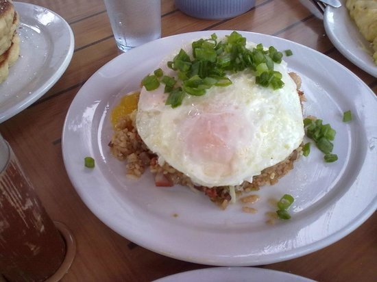 Kihei Caffe: fried rice