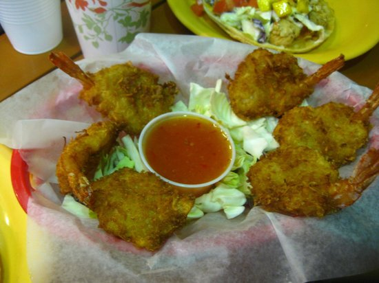 Coconut's Fish Cafe : coconut shrimp taste coconuty
