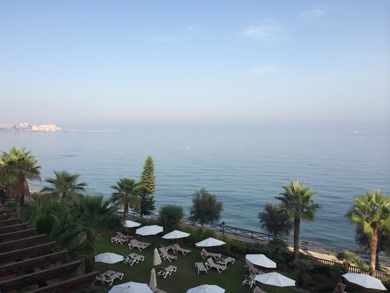 Gran Hotel Elba Estepona & Thalasso Spa: View from the balcony