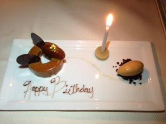 Daniel : birthday cake