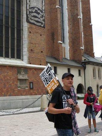 Krakow Free Walking Tour: Tomek, guide extraordinaire