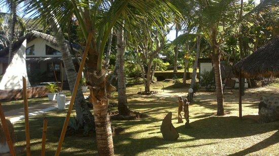 Orangea Village: Giardino