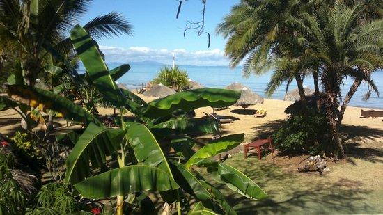 Orangea Village: Vista dall'accesso spiaggia