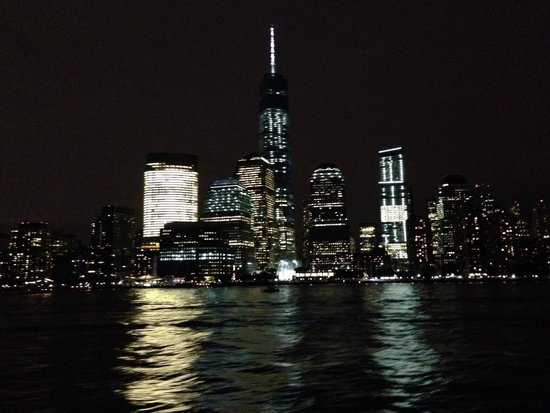 Manhattan Skyline : By night