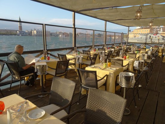 Cip's Club Belmond Hotel Cipriani : Restaurant-Terrasse