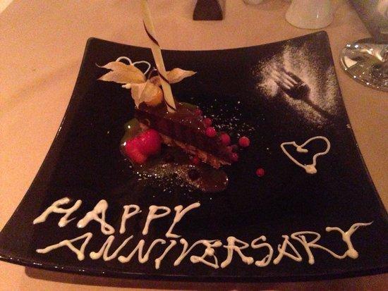 Sage Restaurant & Wine Bar: Complimentary dessert!