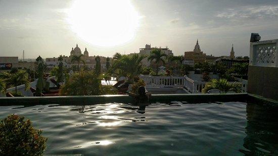 Hotel Monterrey: por do sol maravilhoso