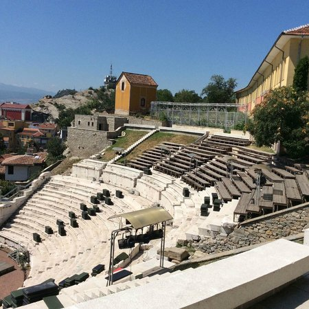 Plovdiv Roman Theatre : Ancient Theater