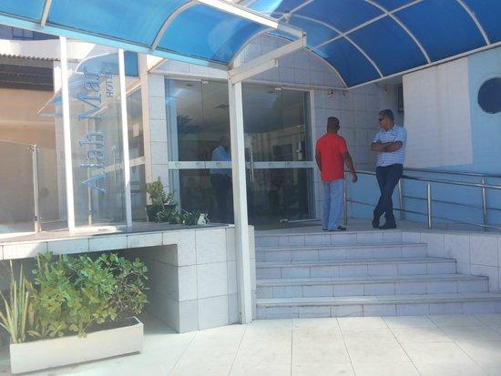 Hotel Alah Mar: Entrada do Hotel