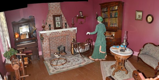 Fort Hays State Historic Site: 2nd room in house