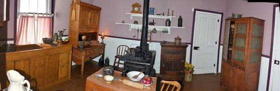 Fort Hays State Historic Site: 3rd room in house