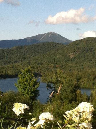 Crowne Plaza Lake Placid: View of Whiteface Mtn. from hotel