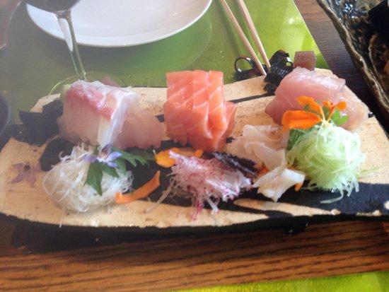 Restaurant Yoshi: Assortiment sashimi