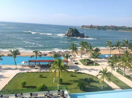 Dreams Huatulco Resort & Spa: VISTA DESDE MI HABITACION
