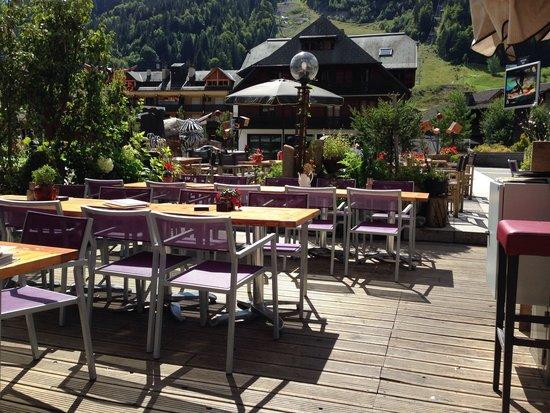 Restaurant la Chamade : La terrasse