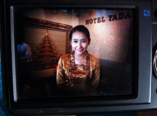 Hotel Yadanarbon : Thiri Her is Princess at Bayanarbon Hotel. ^^
