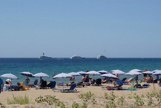 Sandy Beach Resort: view from beach