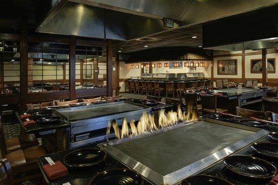 DoubleTree by Hilton Hotel Flagstaff : Sakura Teppanyaki & Sushi Japanese restaurant