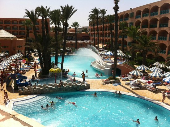 Le Marabout Hotel : Piscine