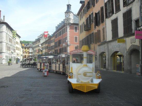 Le Petit Train Touristique de Chambéry