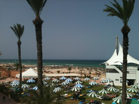 Le Marabout Hotel : Plage