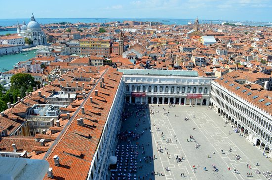 Campanile di San Marco: View from the top