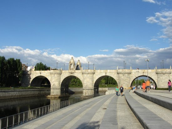 Madrid Rio : Мост Толедо