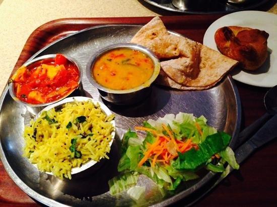 Govinda S Pure Vegetarian Restaurant Small Thali Paneer