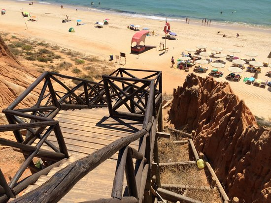 Adriana Beach Club Hotel Resort : staircase to beach