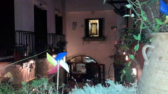Veneto Restaurant: view from its prive balcony area