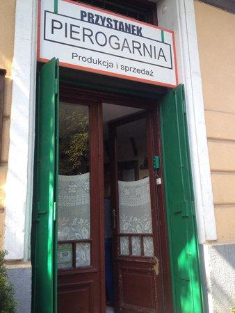 Przystanek Pierogarnia: Front of shop