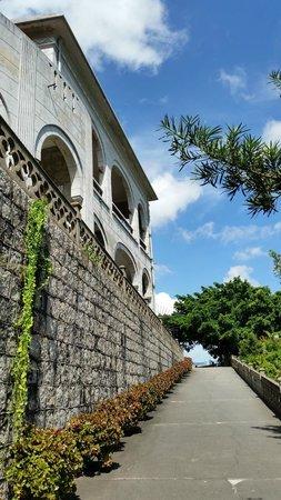 Our Lady of Penha: лестница на площадку