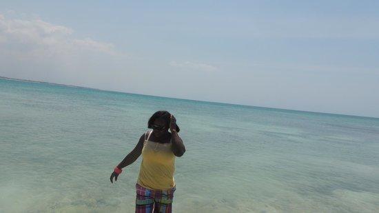 Mbudya island: In the beach
