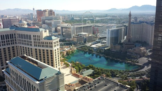 Vdara Hotel & Spa: Living Area View