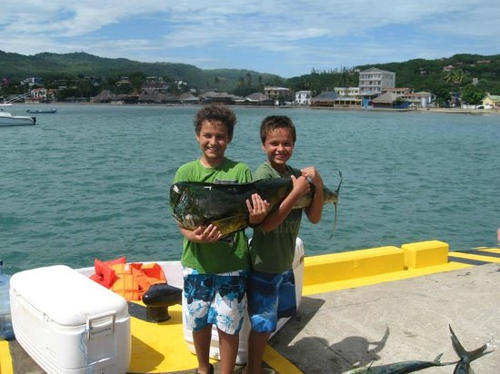 Little boys also fish picture of san juan del sur surf for Surf fishing san diego