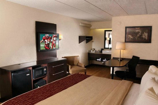 Red Roof Inn Atlanta Kennesaw: Stand Double with Office