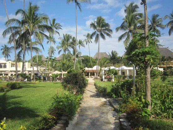 Dream of Zanzibar: view of the hotel from the garden
