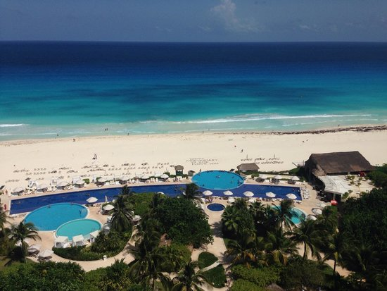 Live Aqua Beach Resort Cancun : View from 9th floor
