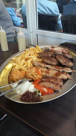 Schweine Janes: Mixed grill for two!