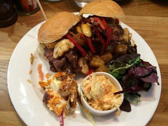 Merienda: Burger yum yum
